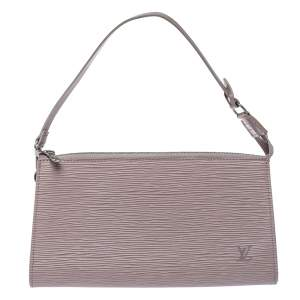 Louis Vuitton Lilac Epi Leather Pochette Accessoires