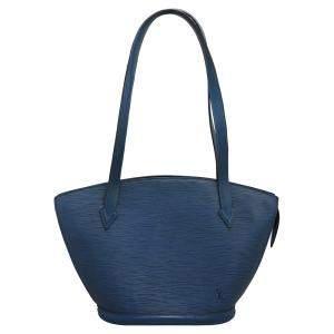 Louis Vuitton Blue Epi Saint Jacques Tote PM Bag