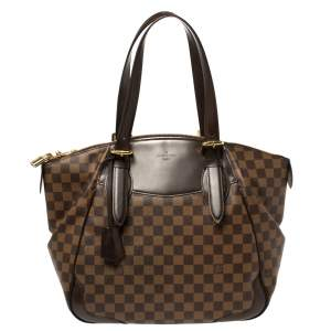 Louis Vuitton Damier Ebene Canvas Verona GM Bag