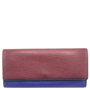Louis Vuitton Tricolor Epi Leather Flore Wallet