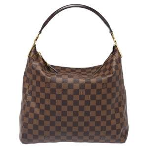 Louis Vuitton Damier Ebene Canvas Portobello PM Bag