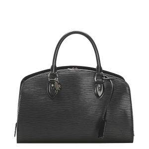 Louis Vuitton Black Epi Leather Electric Pont-Neuf PM Bag