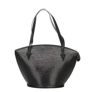 Louis Vuitton Black Epi Saint Jacques Long Strap GM Bag