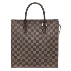 Louis Vuitton Brown Damier Ebene Canvas Venice Sac Plat Bag