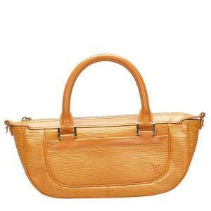Louis Vuitton Yellow Epi Leather Dhanura PM Bag
