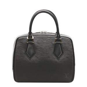 Louis Vuitton Black Epi Leather Sablons Bag