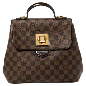 Louis Vuitton Damier Ebene Canvas Bergamo PM Bag