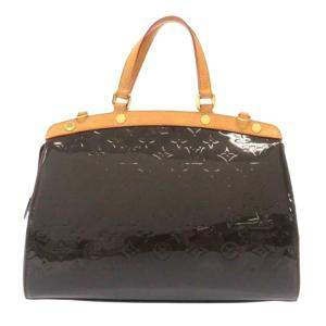 Louis Vuitton Brown Monogram Vernis Brea MM Bag