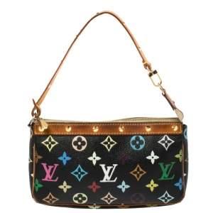 Louis Vuitton Multicolor Monogram Canvas Pochette Accessories