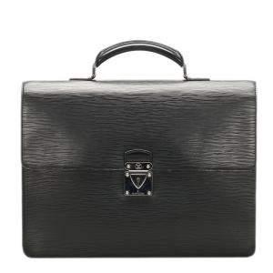 Louis Vuitton Black Epi Leather Robusto 1 Compartment Briefcase