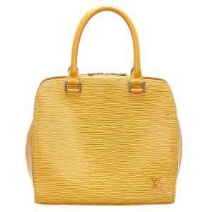 Louis Vuitton Yellow Epi Leather Pont Neuf bag
