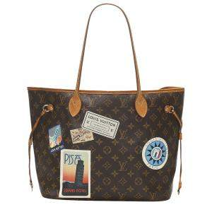 Louis Vuitton Brown Monogram Canvas My LV World Tour Neverfull MM Bag