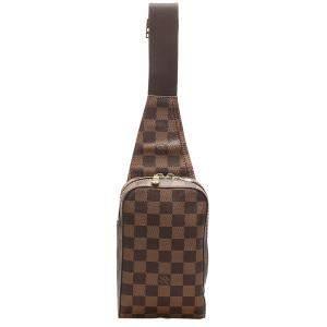 Louis Vuitton Brown Damier Ebene Canvas Geronimos Waist Bag