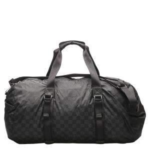 Louis Vuitton Black Damier Graphite Canvas Aventure Practical Bag
