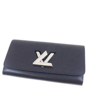 Louis Vuitton Blue Epi Leather Twist Wallet