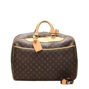 Louis Vuitton Brown Monogram Canvas Alize 2 Poches Bag