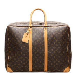 Louis Vuitton Brown Monogram Canvas Sirius 55 Bag