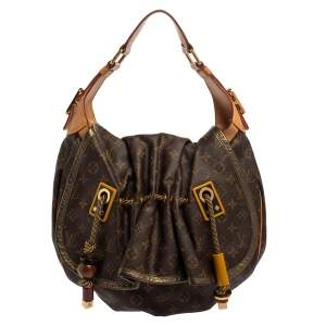 Louis Vuitton Monogram Canvas and Leather Limited Edition Kalahari GM Bag
