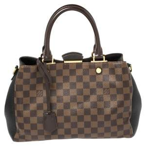 Louis Vuitton Damier Ebene Canvas Brittany BB Bag