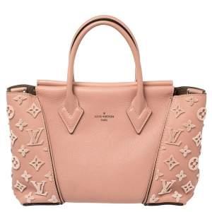 حقيبة يد لوى فيتون بى بى فيلورس مونوغرامى وجلد وردية