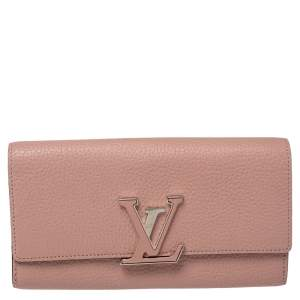 Louis Vuitton Magnolia Taurillon Leather Capucines Wallet