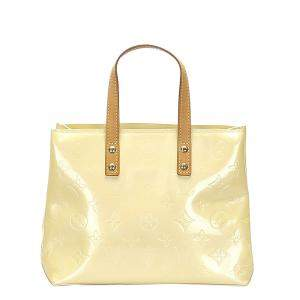 Louis Vuitton Yellow Monogram Vernis Reade PM Bag