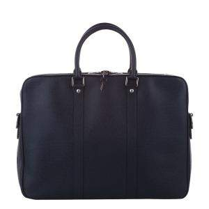 Louis Vuitton Black Taiga Leather Porte-Documents Voyage Bag