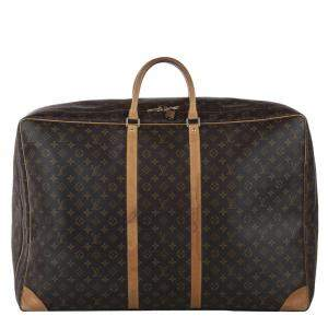 Louis Vuitton Brown Monogram Canvas Sirius 65 Bag