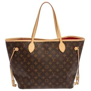 Louis Vuitton Monogram Canvas Neverfull MM NM Bag