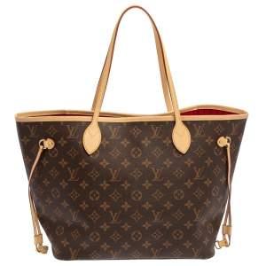 Louis Vuitton Monogram Canvas Neverfull MM NM Bag