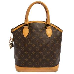 Louis Vuitton Monorgram Canvas Lockit PM Bag