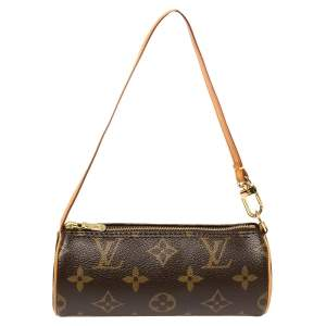 Louis Vuitton Monogram Canvas Papillon Pouch