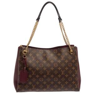 Louis Vuitton Bordeaux Monogram Canvas Surene MM Bag