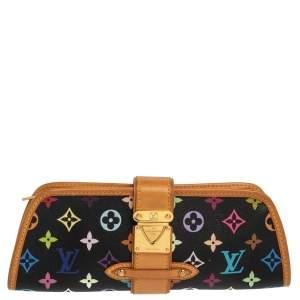 حقيبة لوي فيتون شيرلي كانفاس مونوغرامية متعددة  الألوان سوداء