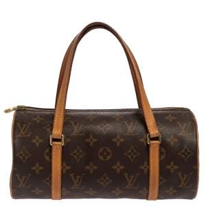 Louis Vuitton Monogram Canvas Papillon 28 Bag