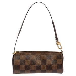 Louis Vuitton Damier Ebene Canvas Papillon Pouch