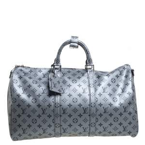 Louis Vuitton Metallic Monogram Keepall Bandouliere 50 Bag