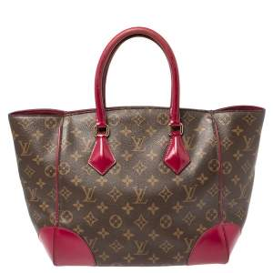 Louis Vuitton Fuchsia Monogram Canvas Phenix MM Bag