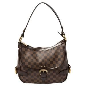 Louis Vuitton Damier Ebene Canvas Highbury Bag