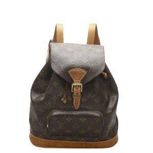 Louis Vuitton Brown Monogram Canvas Mini Montsouris Backpack Bag