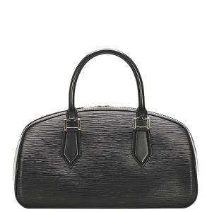 Louis Vuitton Black Epi Leather Jasmine Bag