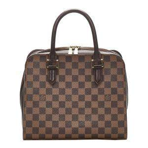 Louis Vuitton Brown Damier Canvas Ebene Triana Bag
