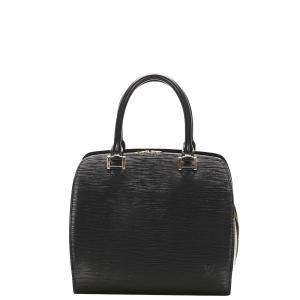 Louis Vuitton Black Epi Leather Pont Neuf Bag