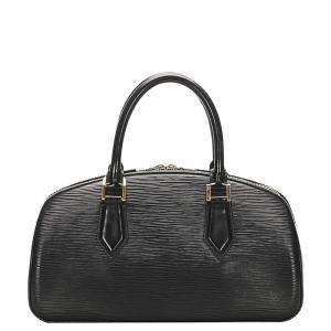 Louis Vuitton Black Epi Leather Jasmin Bag