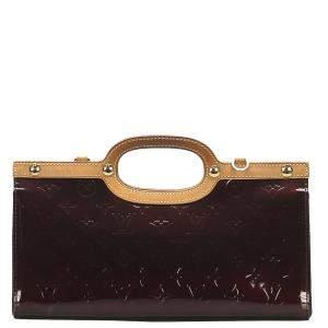 Louis Vuitton Brown Monogram Vernis Roxbury Drive Bag