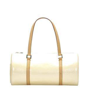 Louis Vuitton Cream Monogram Vernis Bedford Bag