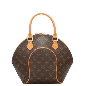 Louis Vuitton Brown Monogram Canvas Ellipse PM Bag