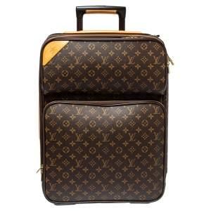 Louis Vuitton Monogram Canvas Pegase 55 Luggage