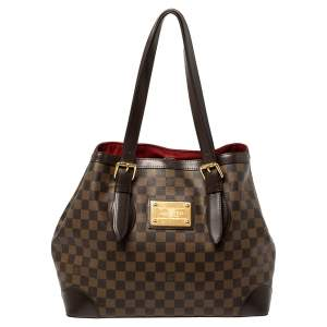 Louis Vuitton Damier Ebene Canvas Hampstead MM Bag