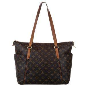 Louis Vuitton Brown Monogram Canvas Totally GM Bag